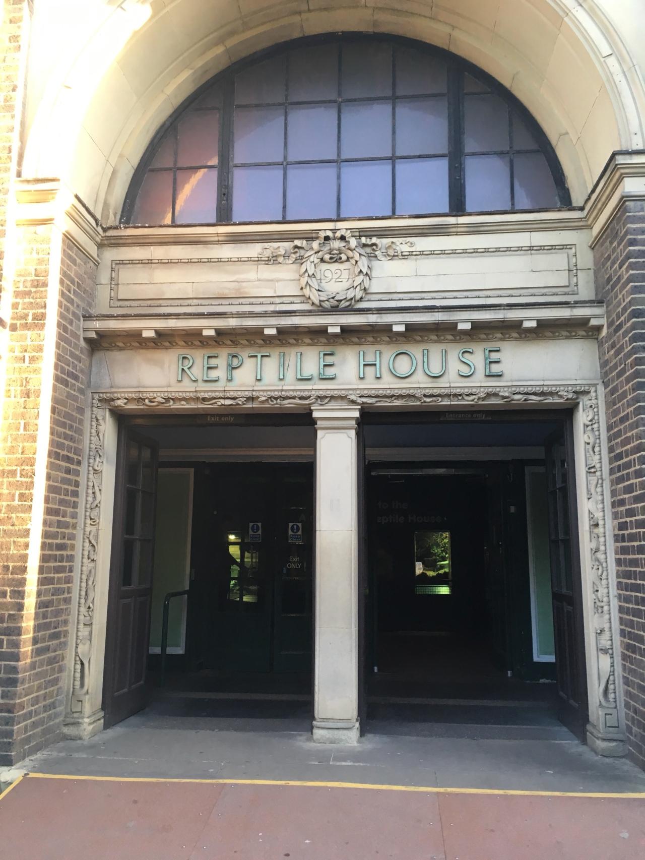 Reptile House London Zoo Harry Potter