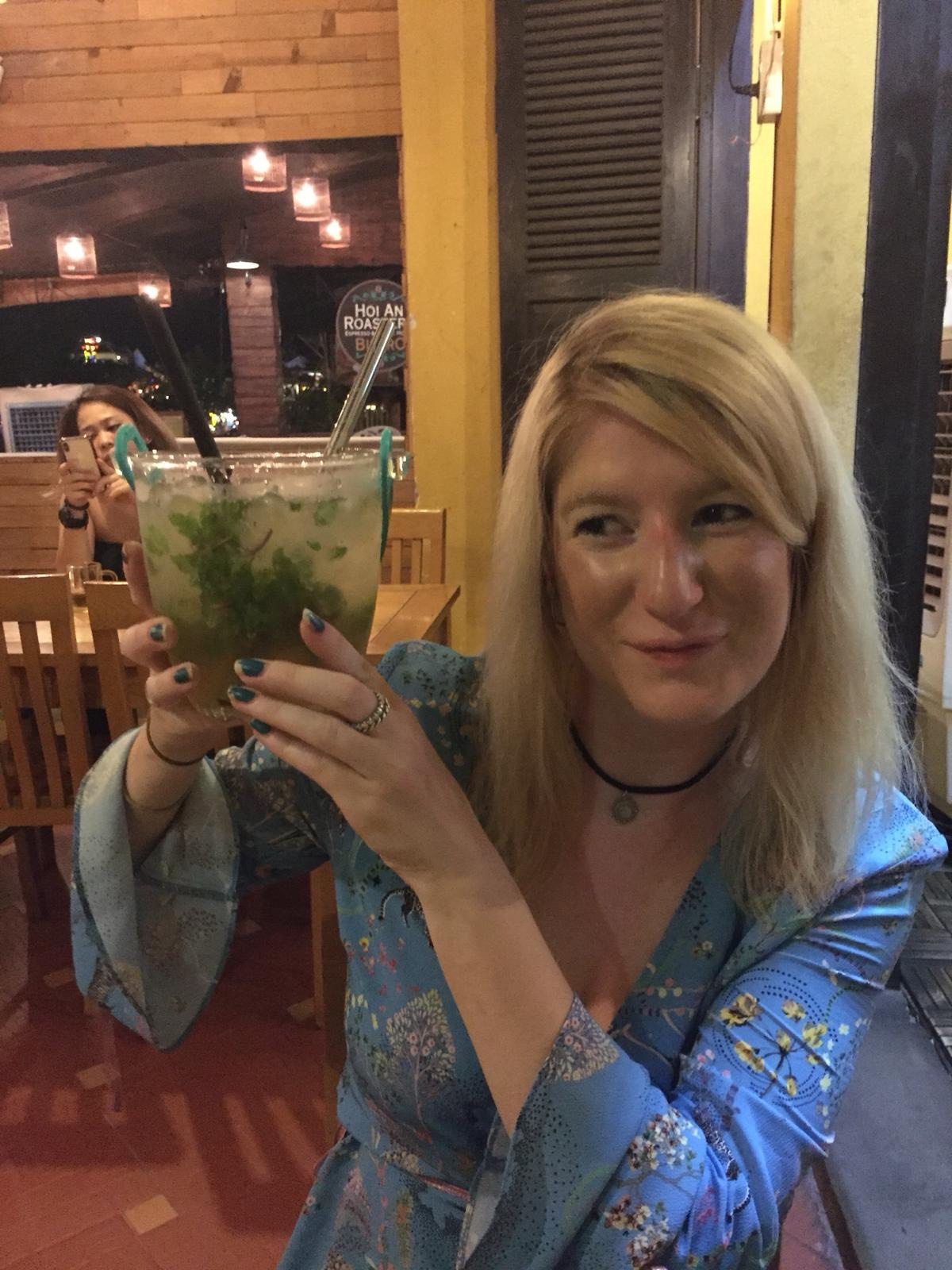 Mojitos bigger than Rhonna's head