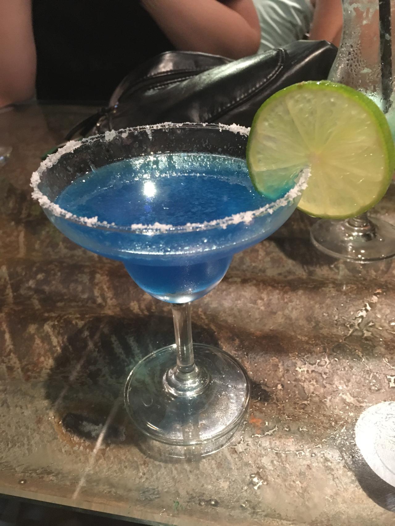 blue margarita Hue