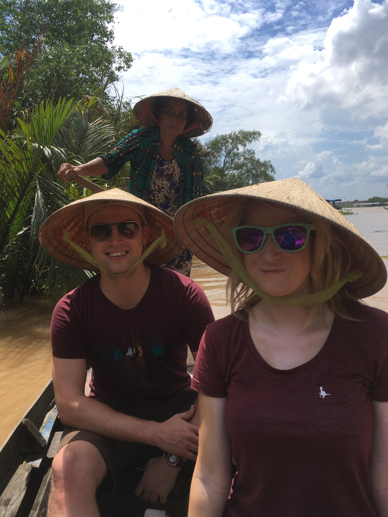 Mekong delta canoe ride