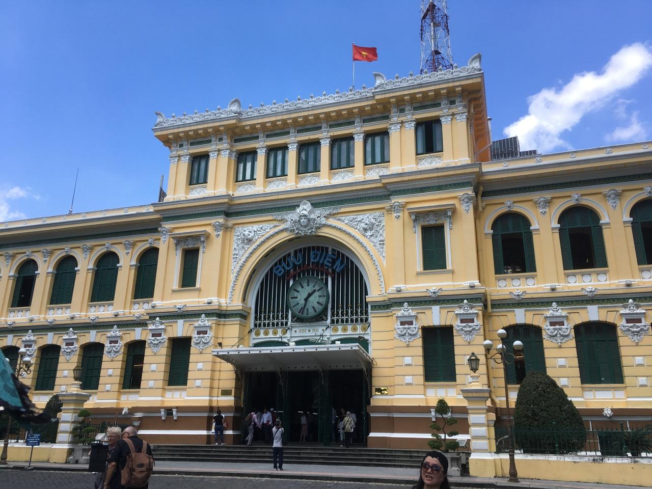Ho Chi Minh city post office