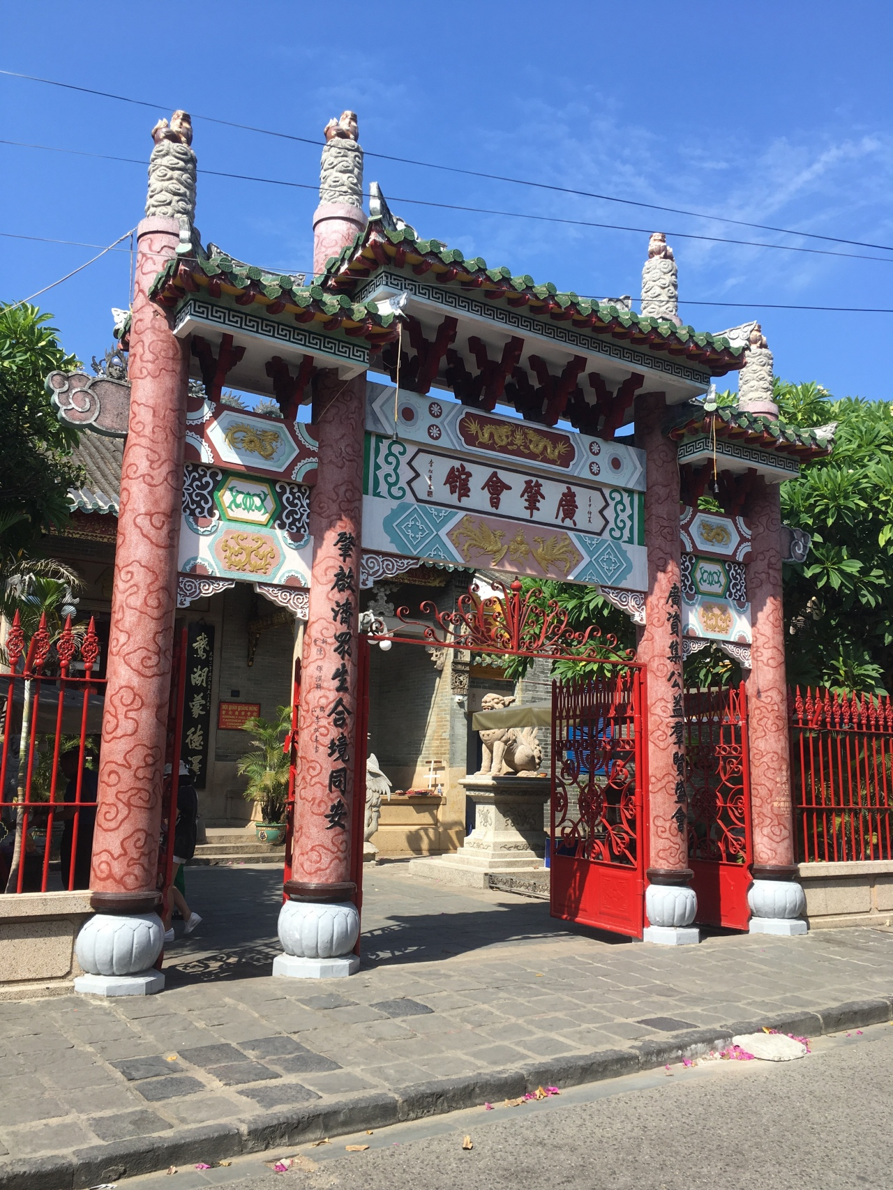 Decorative gate in Hoi An