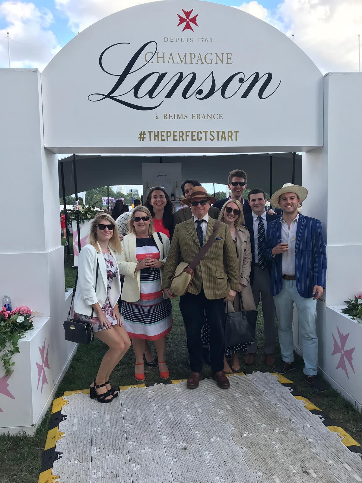 Lanson enclosure polo in the park