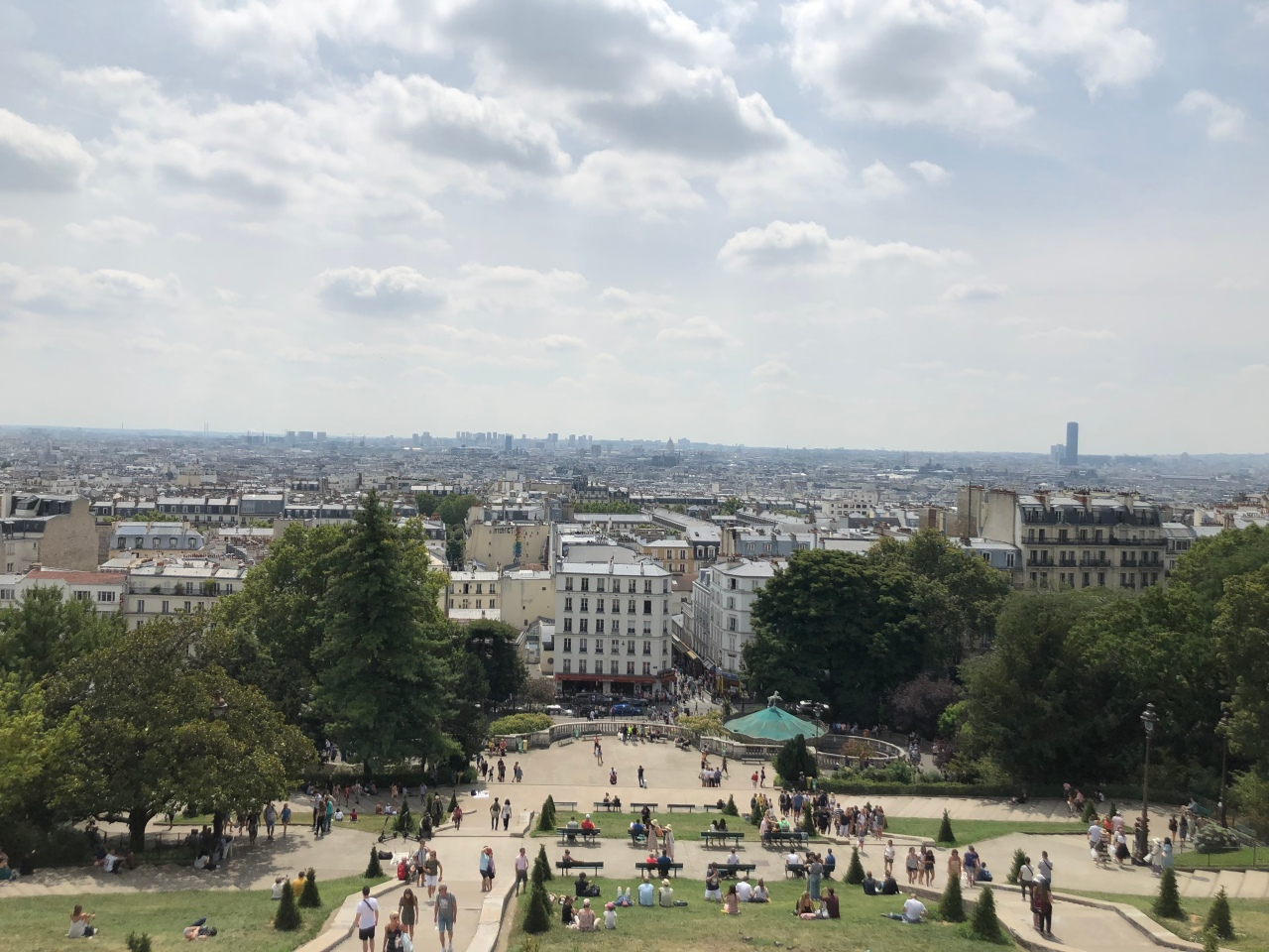View of Paris from the Sacre Coeur