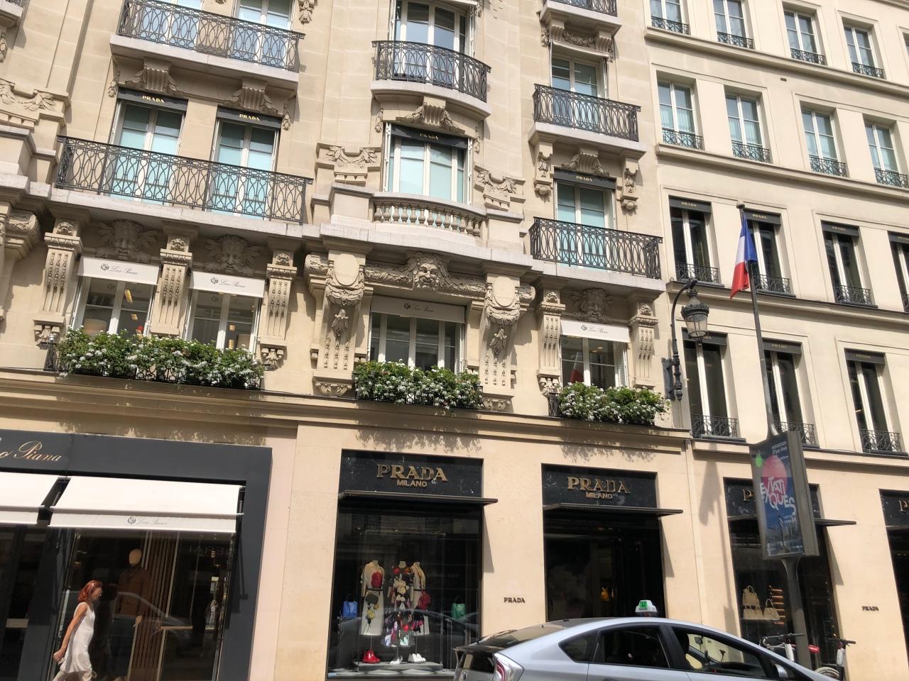 Opera Quarter streets Paris