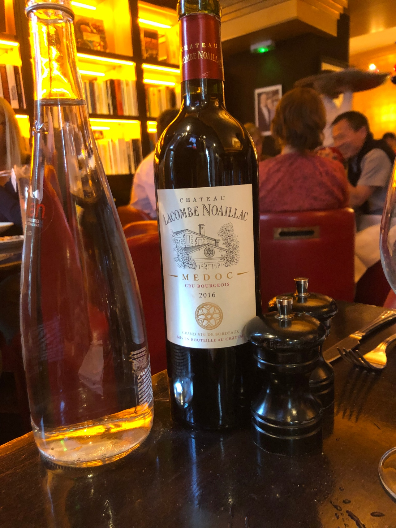 The Red Wine from Bordeaux at Les Editeurs Paris