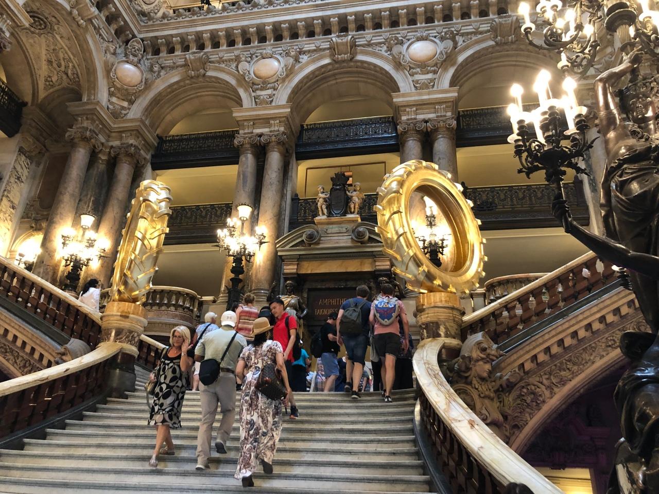 Palais Garnier Opera House Paris staircase