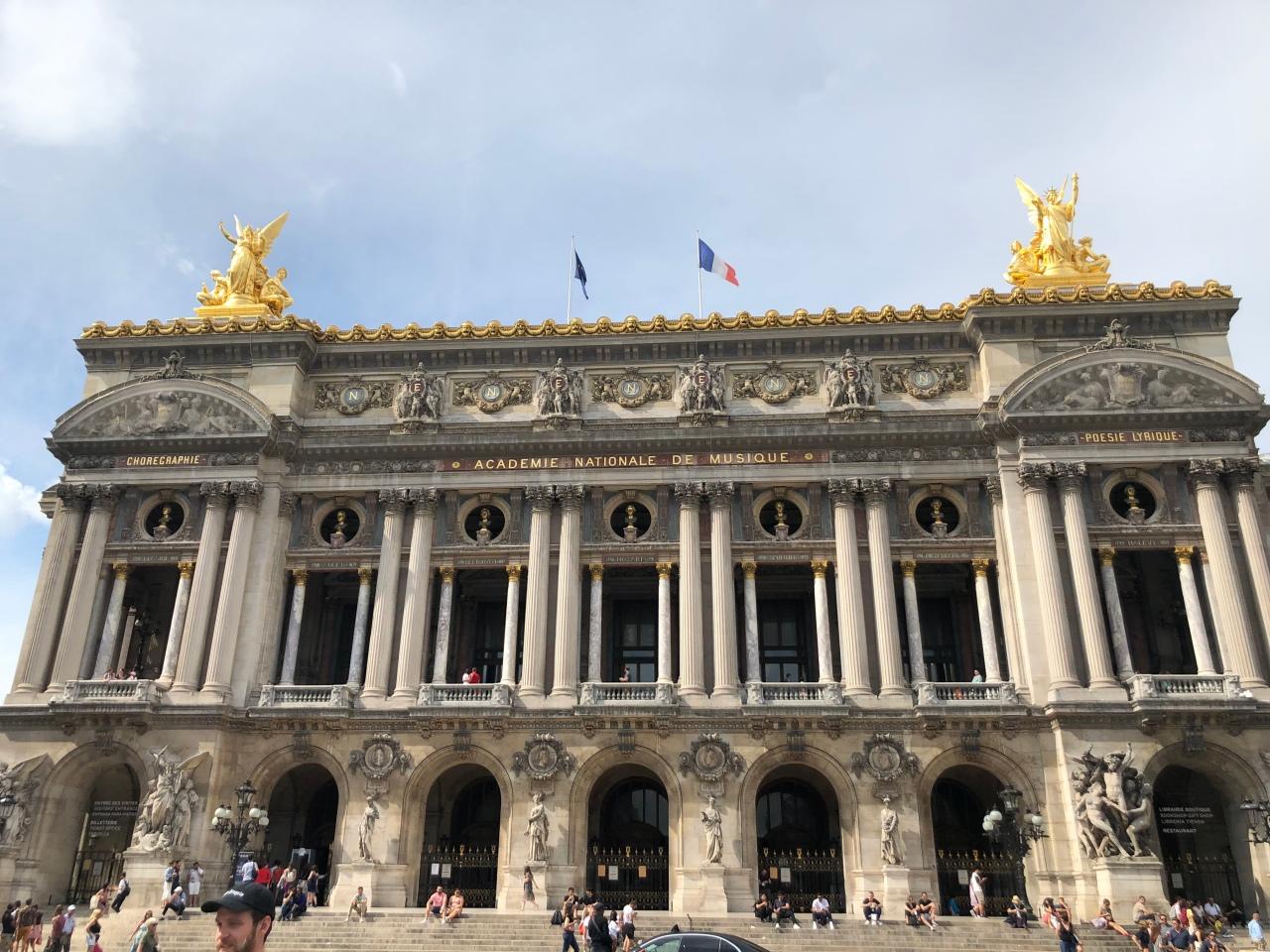 Palais Garnier Opera House Paris Exterior