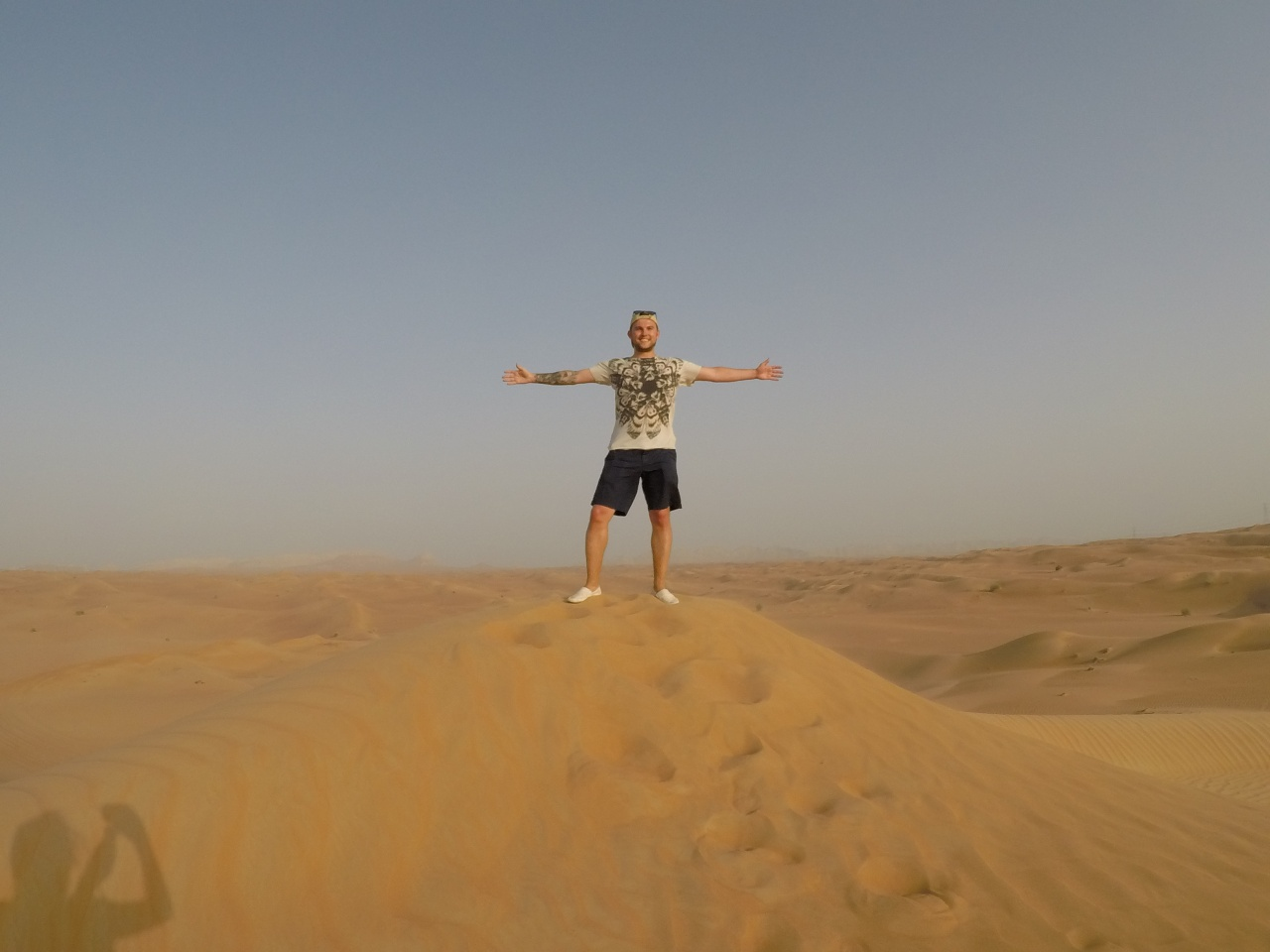 Arabian desert dunes Dubai UAE