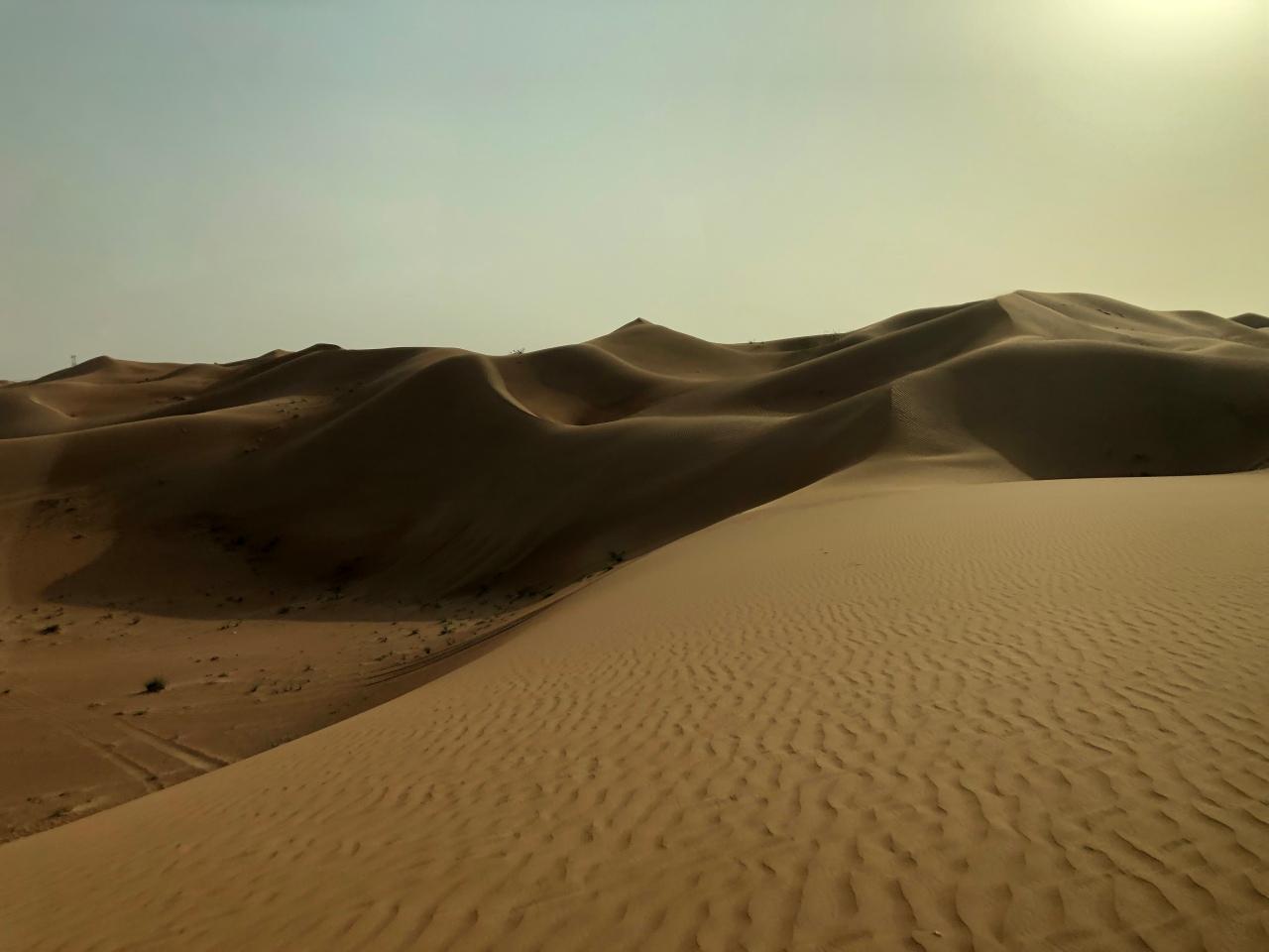 Desert in Dubai or location for Tatooine...