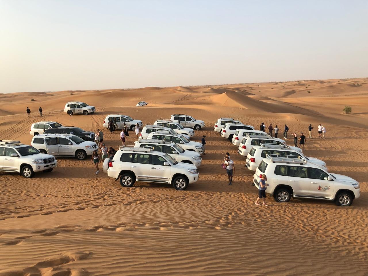 Dune bashing instagram vs reality Dubai