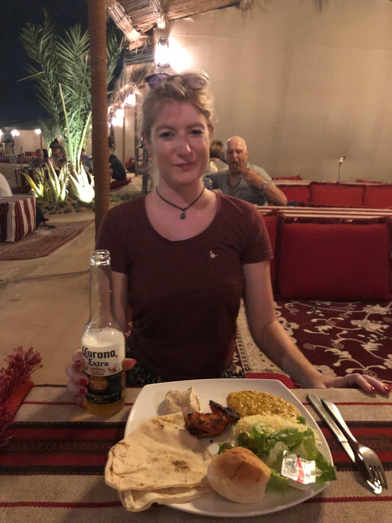 Desert safari buffet Dubai