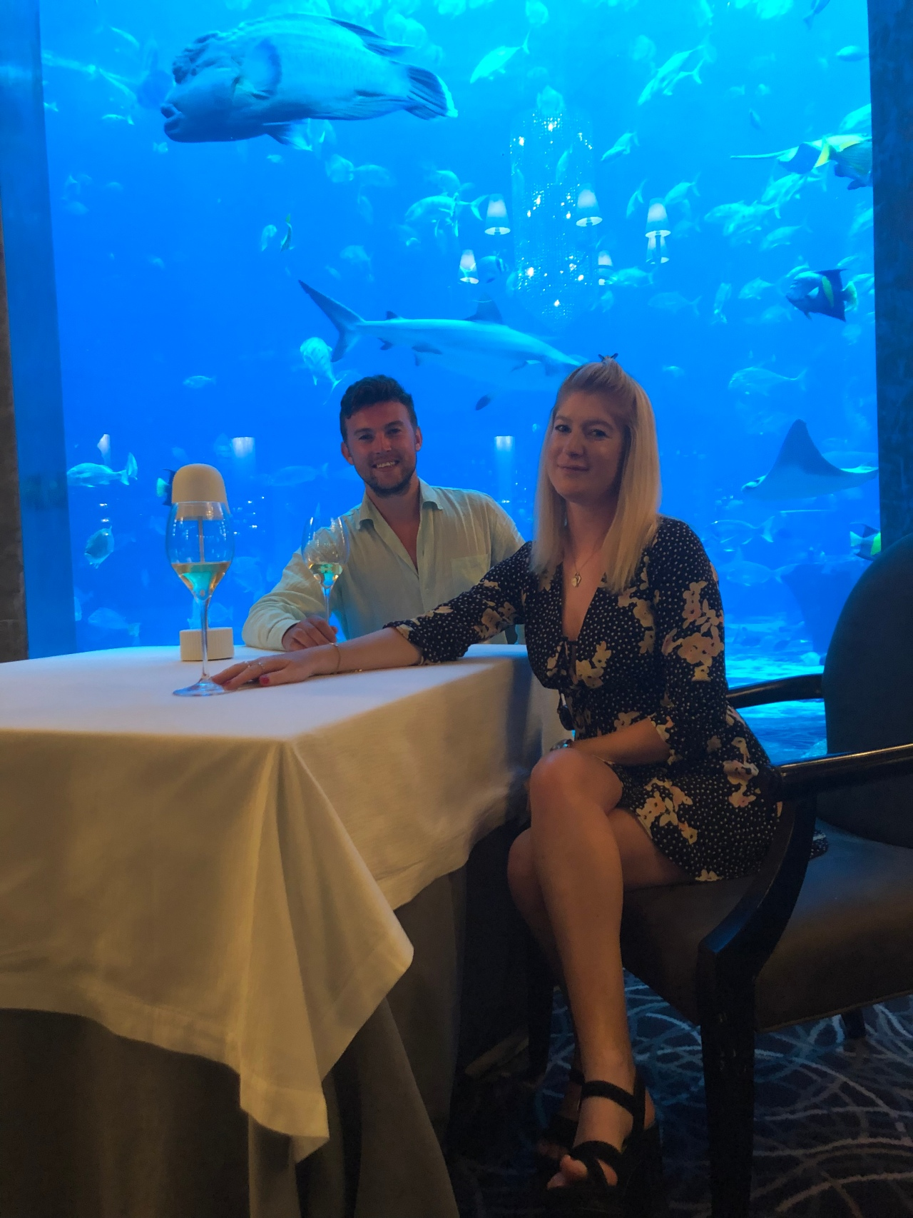 Ossiano – dining in an aquarium