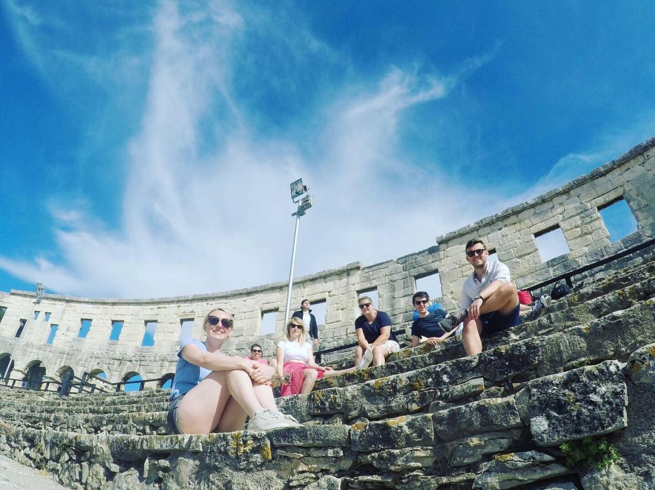 GoPro Pula Colosseum