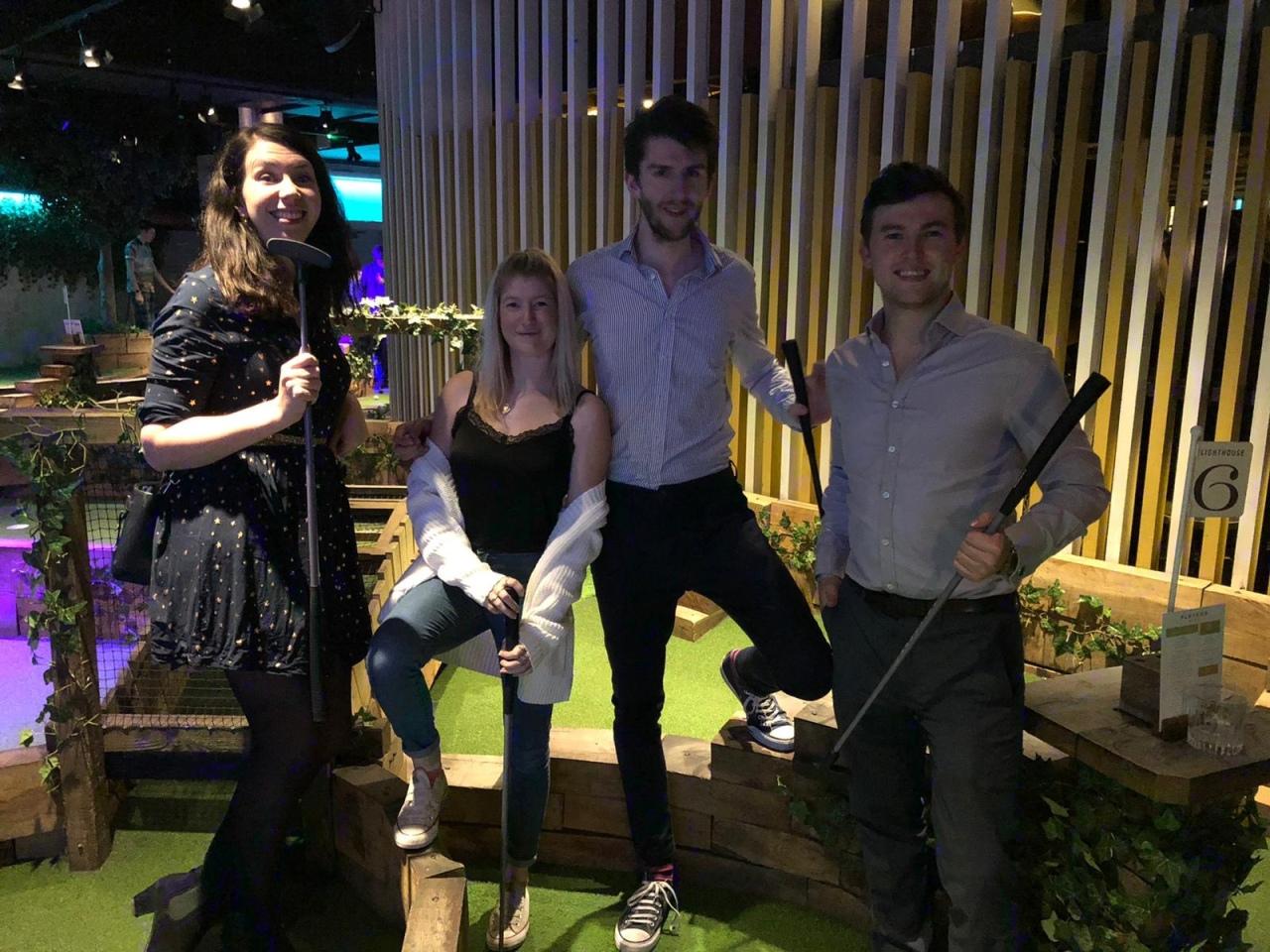 Swingers Golf – TheCity