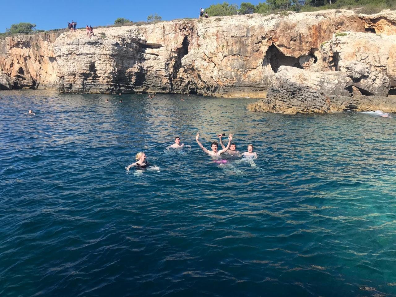 cape kamenjak cliff jump croatia