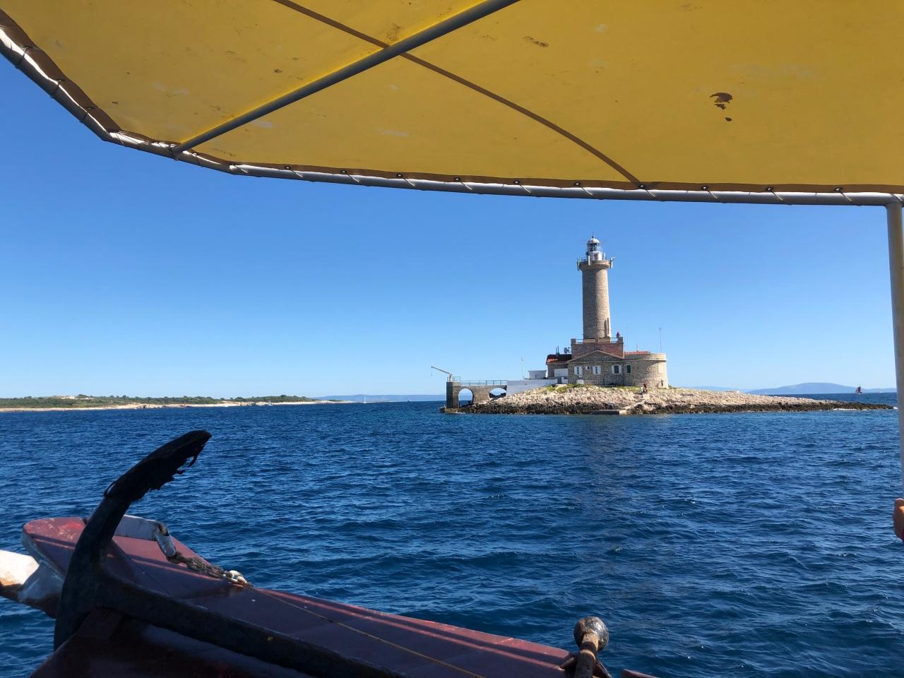 Lighthouse island Croatia