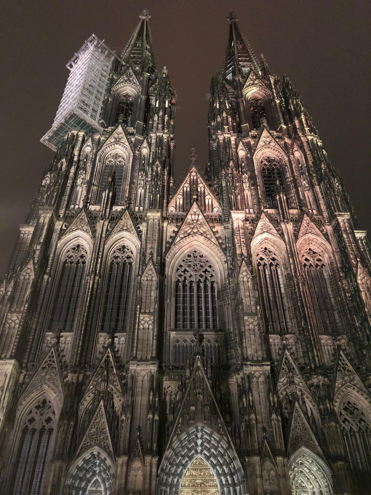 Cologne cathedral spires