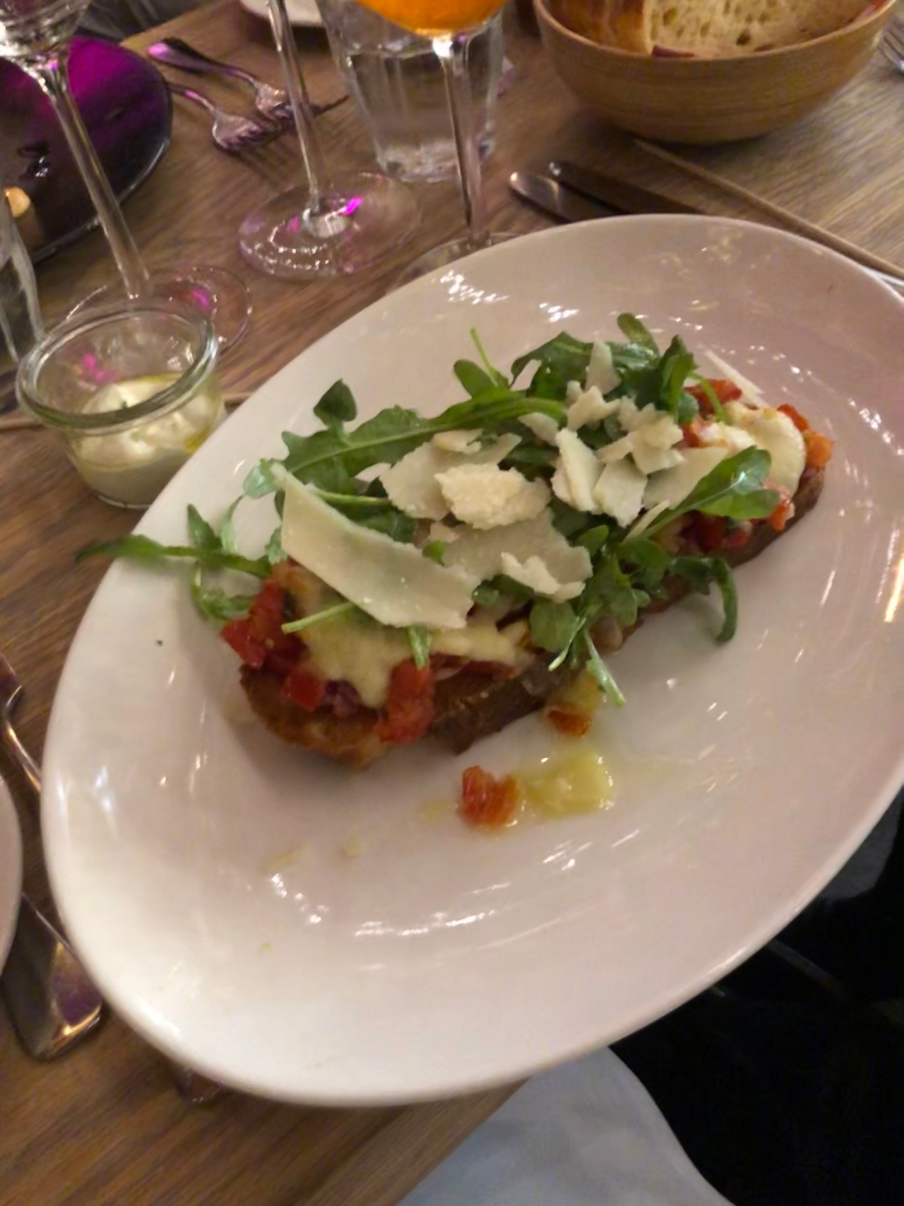 Bruschetta at Via Bene