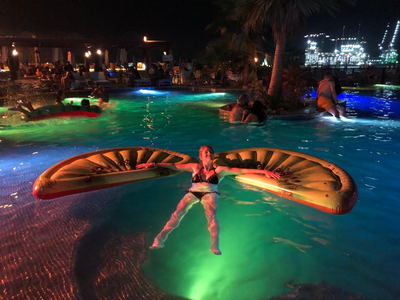 Barasti tropicana pool party