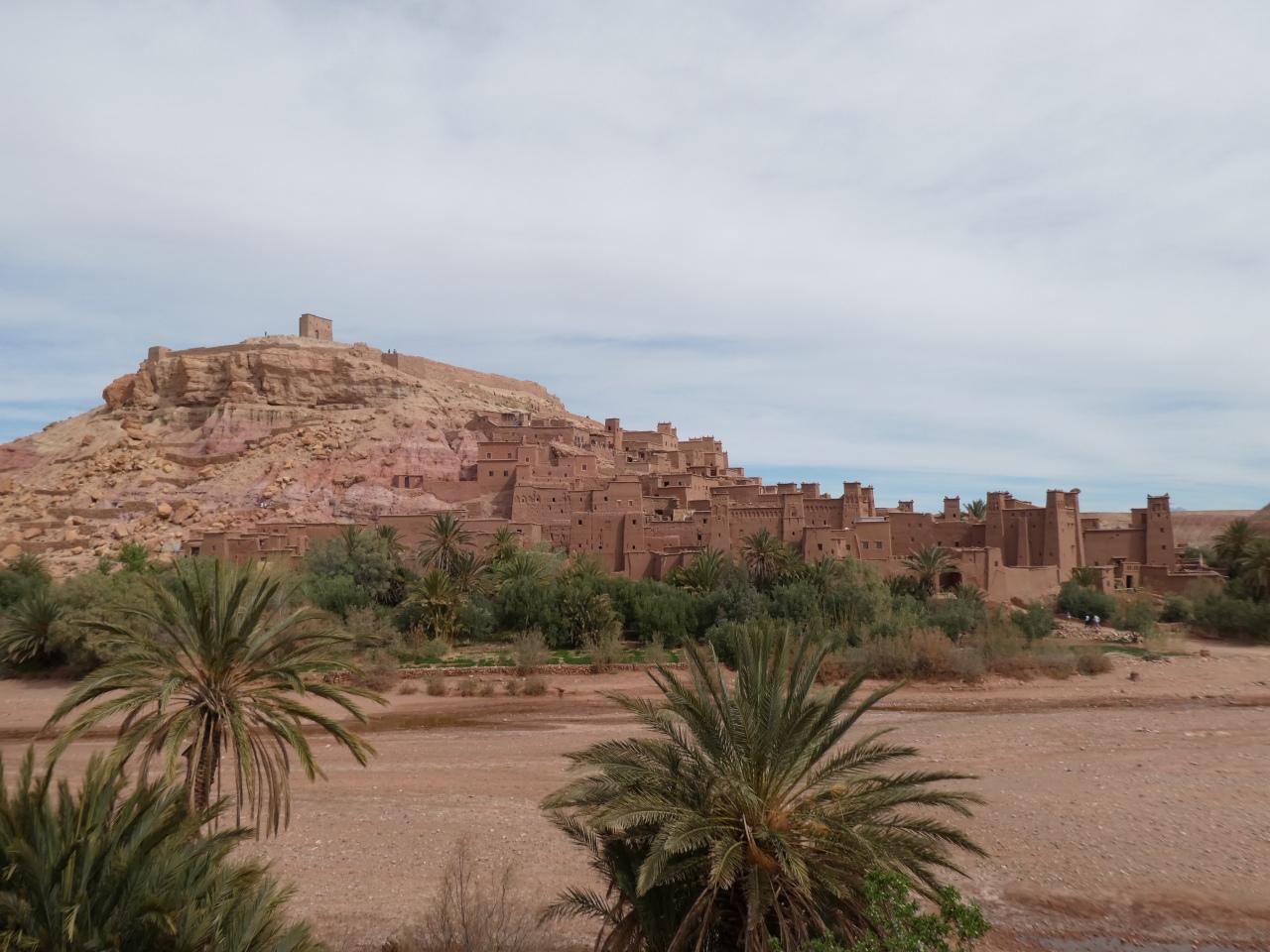 Day trip to Ait Benhaddou through the AtlasMountains