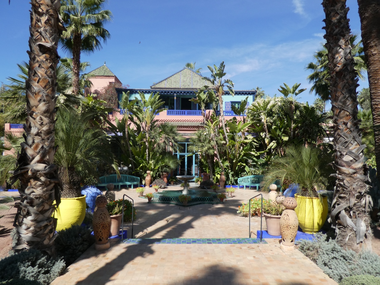 Le Jardin Majorelle and YSL Museum